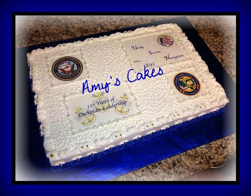 Navy Chief Cake
