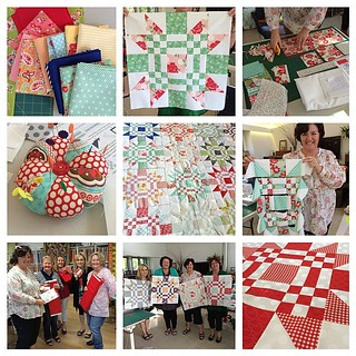 Such a fantastic group in my class at @fifisfabricology today! A Red Letter Day for sure! #quiltabout #redletteraustralia | by croskelley
