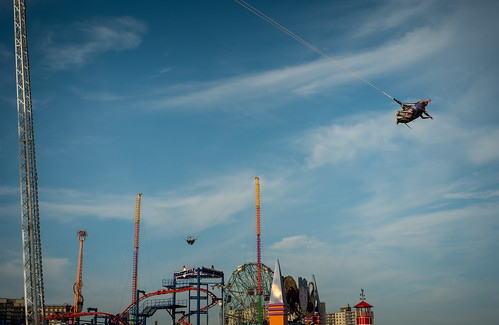 Soaring in Coney Island | by jfwphoto