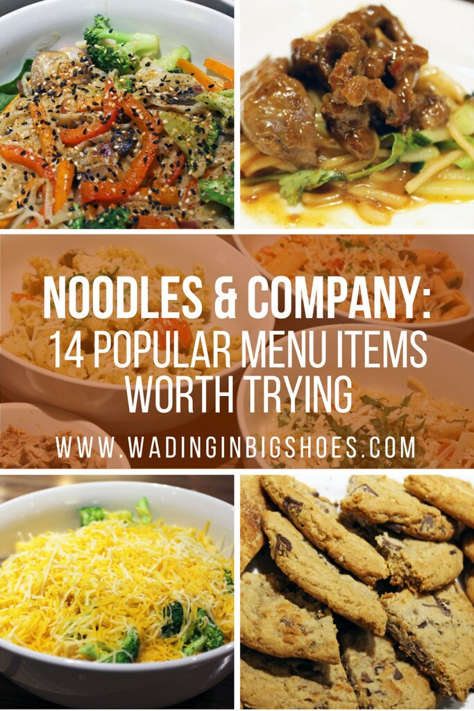 Wondering what to order at Noodles & Company? We tried 14 popular items off the menu to bring you the lowdown on what's good! Pin & click through to learn more. #NoodlesTasting