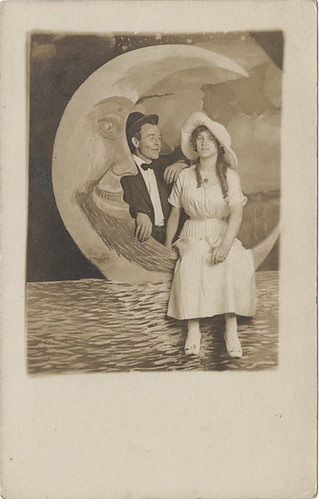 A Paper Moon Sailing Over a Cardboard Sea | by Photo_History - Here but not Happy