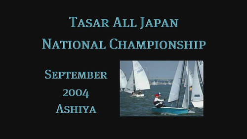 The 2004 Tasar All Japan National Championship ~ a slide show with music