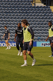 Billy Jones  Preston North End  - Now West Bromwich Albion  : Nathan Ellington & Adam Barton  Open Training Session : Deepdale Stadium : 70-210 f/4 AF Nikkor: Nikon's best midrange zoom | by norbet1