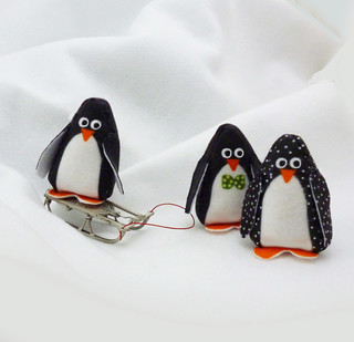 penguins pocket dolls | by ConnieLouFabrics