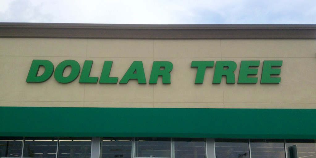 Dollar Tree Store Sign Logo Facade Exterior Pics By Mike Mozart Of TheToyChannel And JeepersMedia On