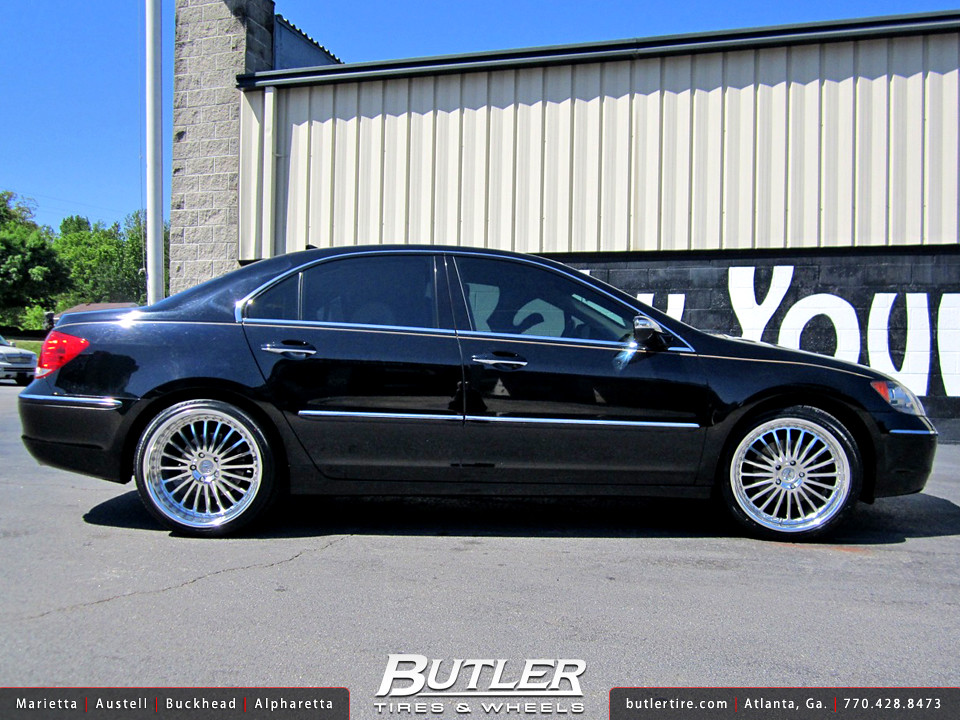 Acura RL With In TSW Silverstone Wheels Additional Pictu Flickr - Acura rl wheels