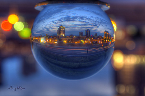 Venus Gazes Into The Crystal Ball | by Terry Aldhizer