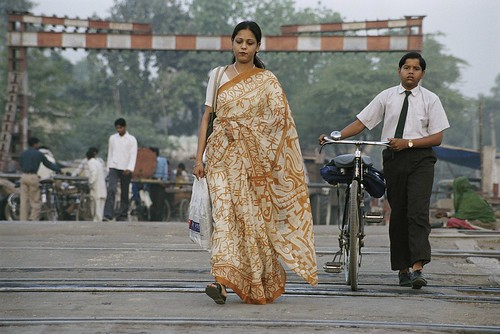 Commuters on their way to work | by World Bank Photo Collection
