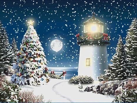V Card merry christmas animat...