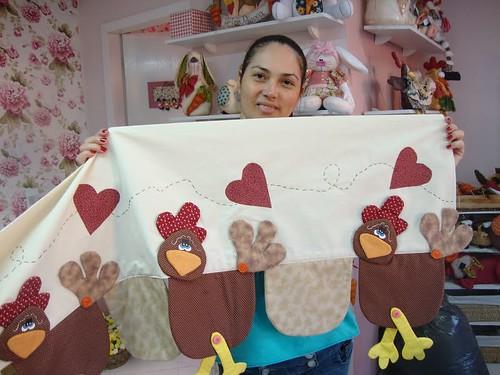 Bando de galinha daiani almeida flickr - Tela para cortina de cocina ...