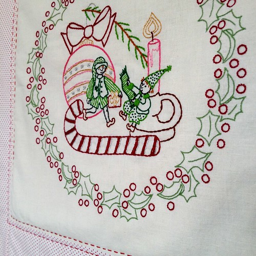 The Little Elves - Little Dorrit & Co. Embroidery Pattern - In the shop now! | by juliezryan