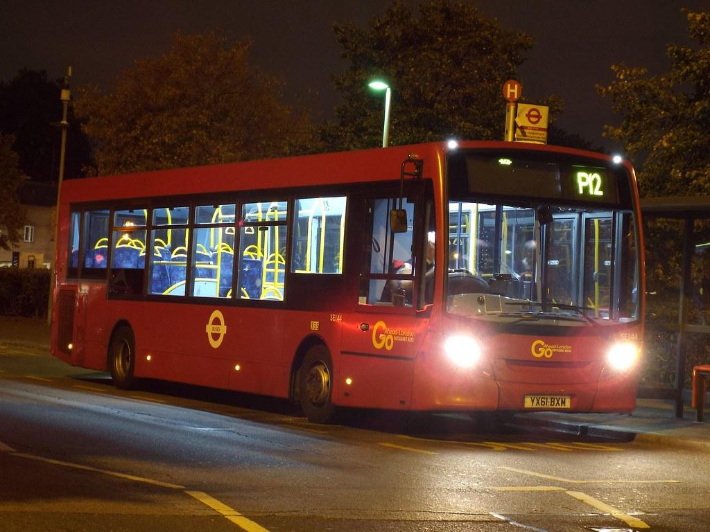 transfer - go-ahead london central se144, yx61bxm standing… | flickr