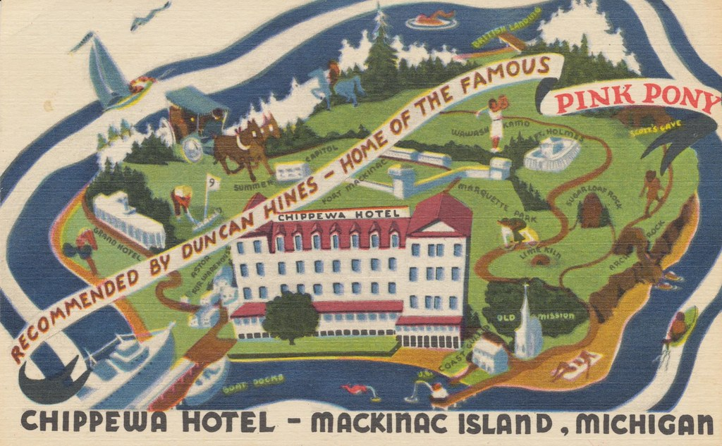 Chippewa Hotel - Mackinac Island, Michigan