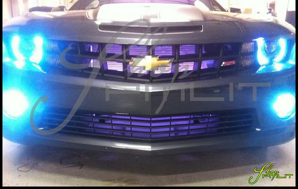 Auto Lights Accessories Car Led Lighting Custom Bulbs Parts Pmlit Oracle Ccfl Camaro Headlight Angel Eyes