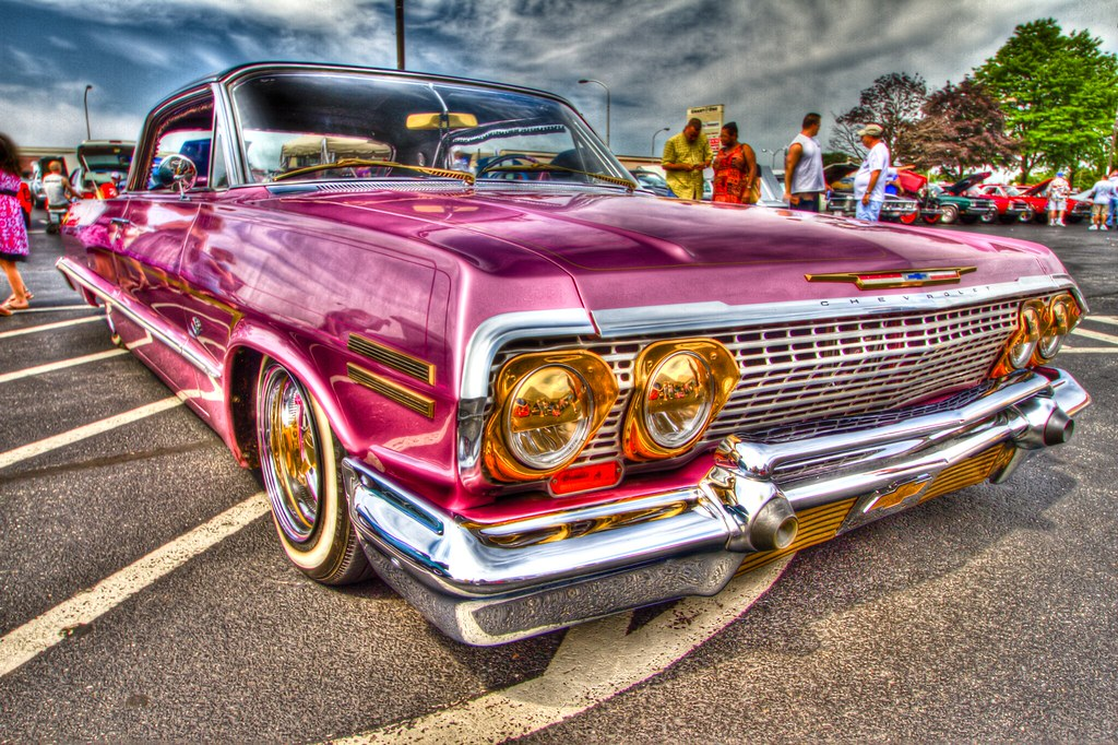 Pimpin Pink Lowrider Taken At This Years General Grants Fa Flickr