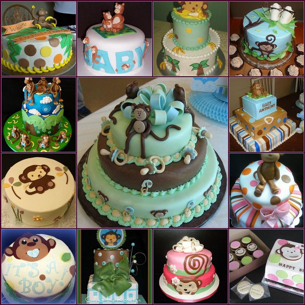 ... DessertLover2010 Monkey Baby Shower Cakes | By DessertLover2010
