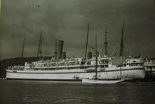 SS Lancashire On River Dart Don Flickr