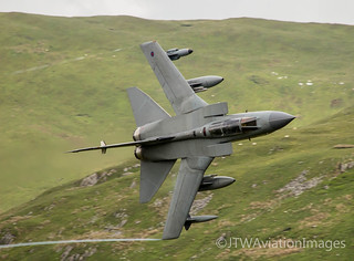 RAF Tornado GR4 turns for Cad West | by JTW Aviation Images