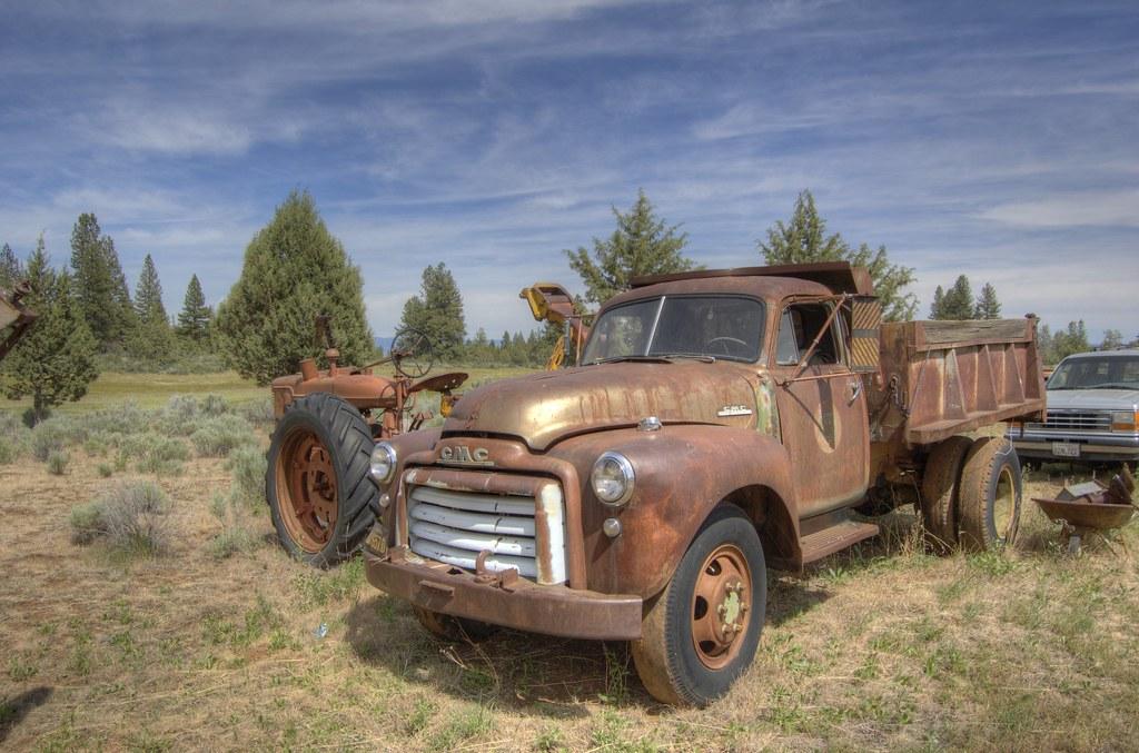 1951 Advance Design GMC dump truck | The photos in this albu… | Flickr