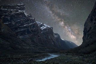 Milky Way above the Himalaya | by Anton Jankovoy (www.jankovoy.com)