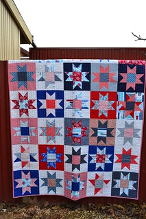 Stars and Stripes quilt | by sew&sews