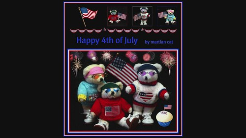 Happy 4th of July ~ a slide show with music