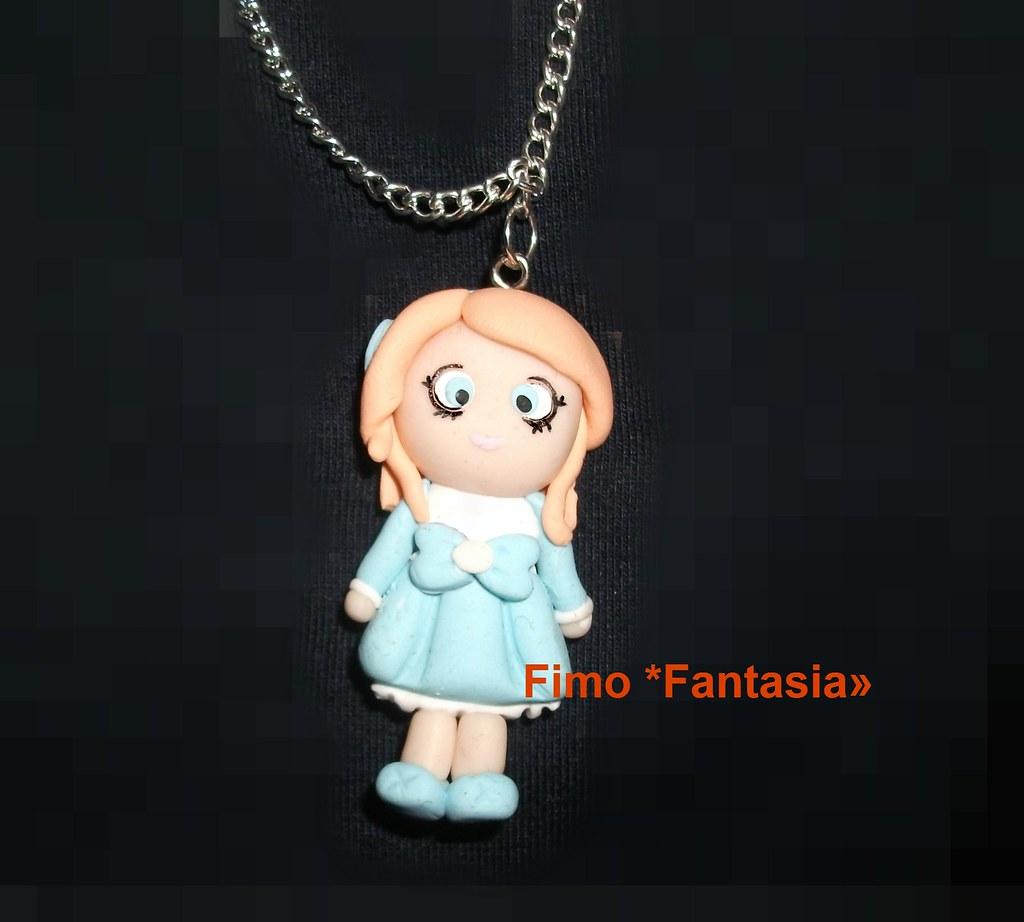... Collana Bambolina Fimo   By *Fantasia*