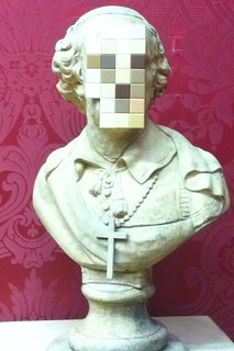 Cardinal sin by banksy ( taken with iPhone 4 ) | by ged68