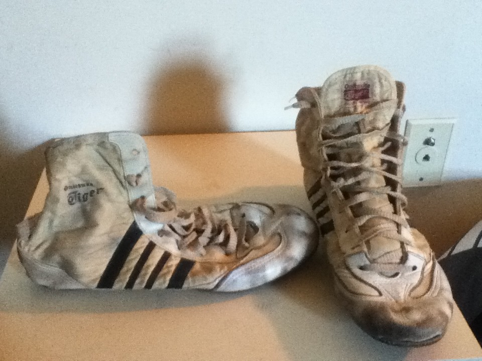 My Dad's old wrestling shoes from 77 | Never For Sale EVER! … | Flickr