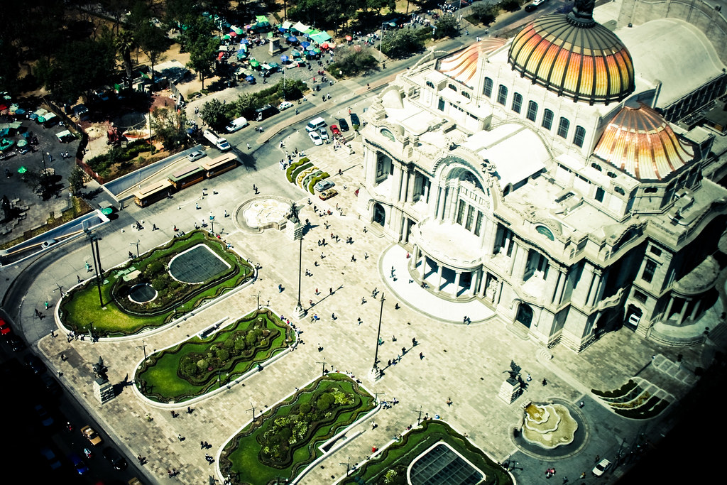 Bellas Artes: Mexico City
