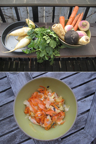 Root Vegetables:  Before and After | by Fig & Quince