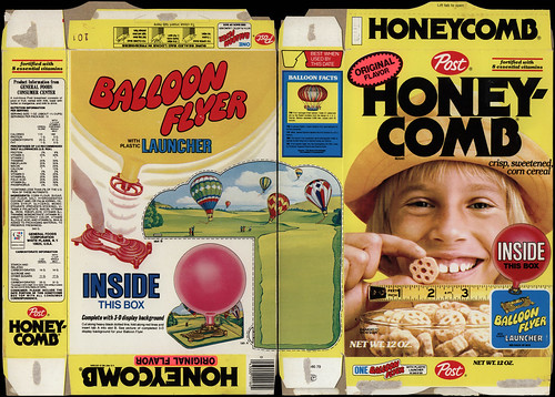 Cereal box book report and commercial
