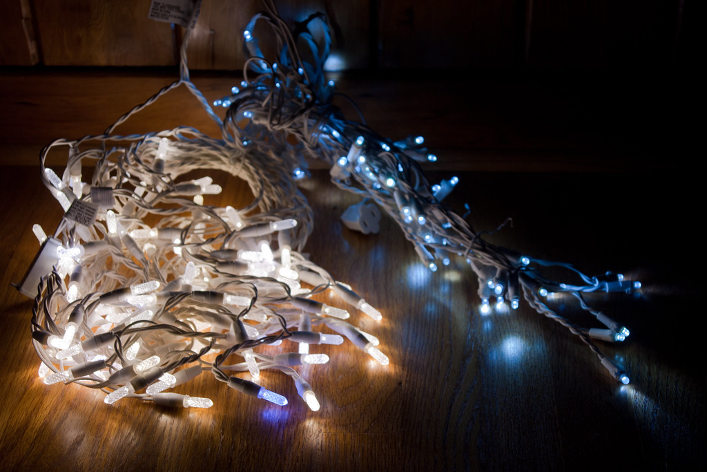 Warm vs Cool White led Christmas lights | I bought new LED C… | Flickr