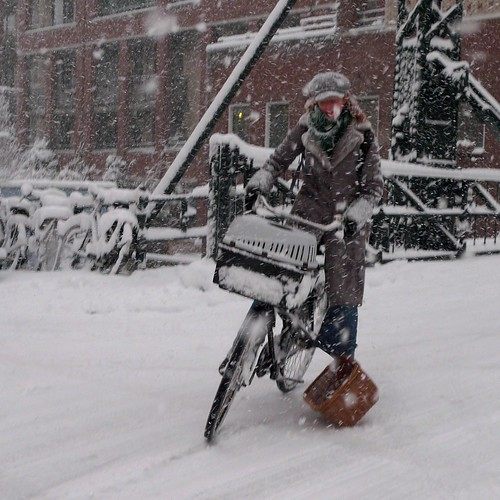 amsterdam snow 7 | by Henry @ WorkCycles
