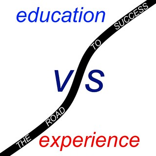 Education vs Experience | by gtalan