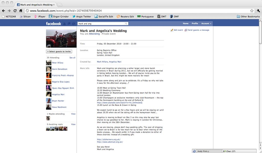 facebook wedding invitation invitation to my wedding on de flickr