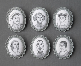 Portraits Brooches | by biribis