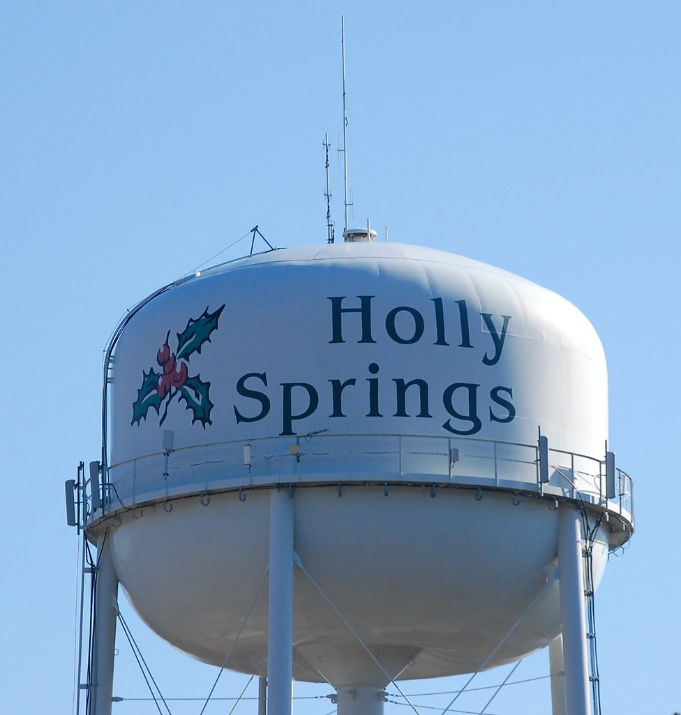 ... Holly Springs Water Tower | By Donald Lee Pardue