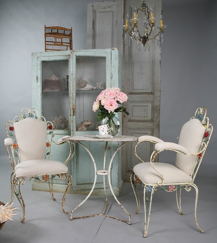 French Garden Tole Furniture | by Alys Geertsen