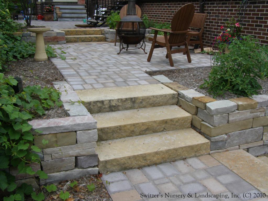 complete backyard renovation kasota natural stone steps u2026 flickr