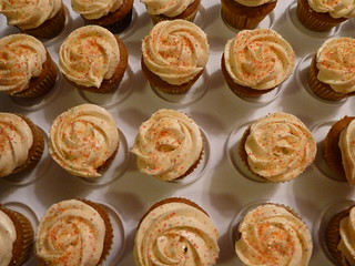 Mini Pumpkin Cupcakes With Cake Mix