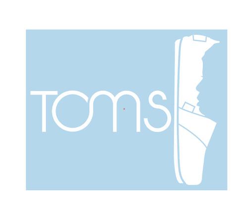 TOMS Shoes Stationary Rebrand (Logo Closeup) | adoer13 ...