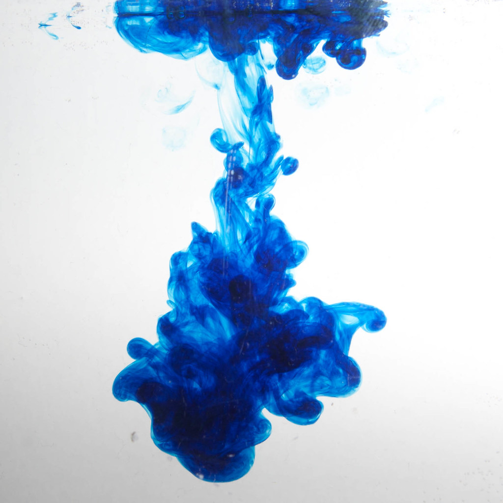Blue food colouring in water as shot | www.richardberryphoto… | Flickr