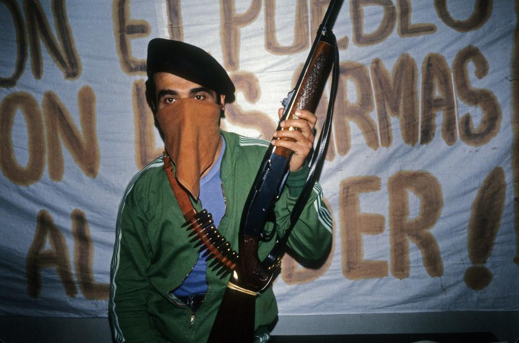 M19 guerrillas, Dominican Embassy, Bogota, 1980 | by Marcelo  Montecino