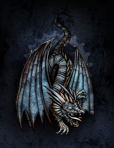 Old Mechanical Dragon | by shaire productions