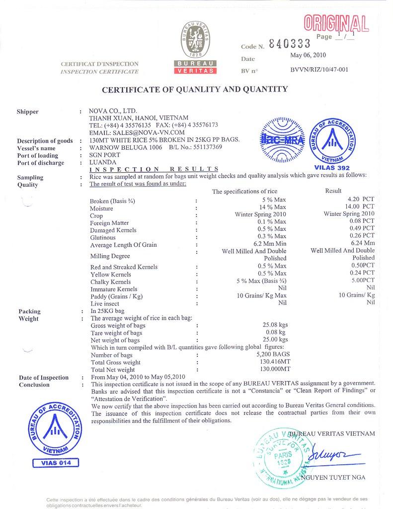 Nova dating certificate