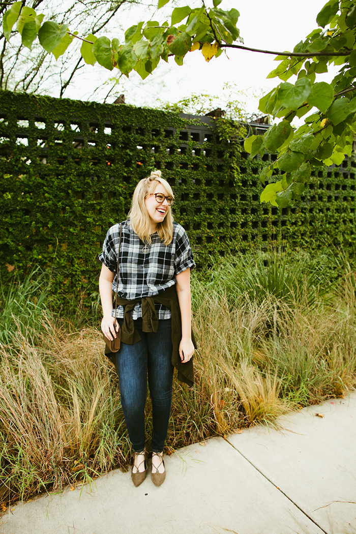 writes like a girl madewell emporia plaid shirt fall outfit2
