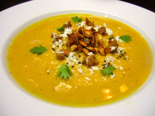 Pumpkin soup with chipotle and pimenton | by SeppySills
