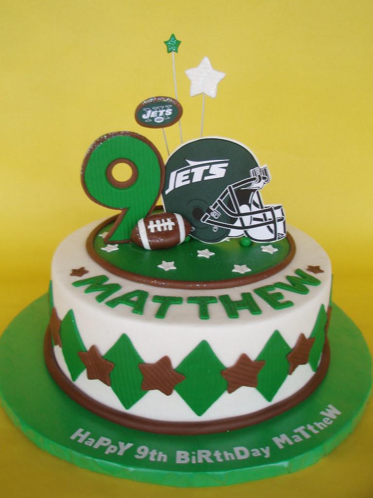 Ny Jets Birthday Cake Matthew Loves The Ny Jetshis Mom Flickr