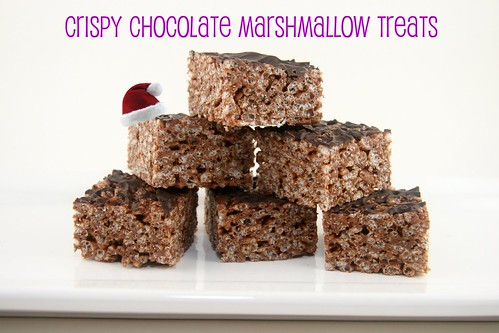 Crispy Chocolate-Marshmallow Treats - Everyday Food | by Food Librarian